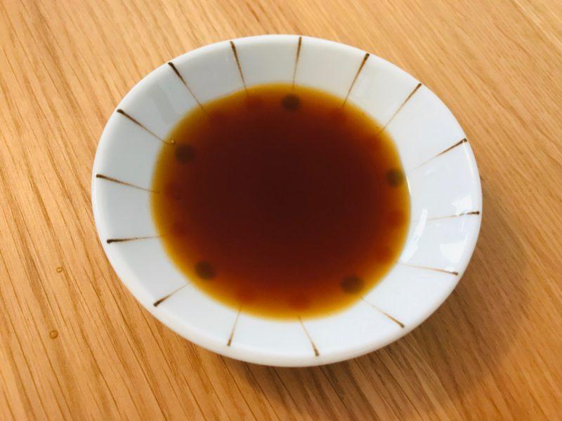自然の味 ポン酢の中身