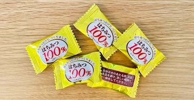 はちみつ100%キャンディの中身