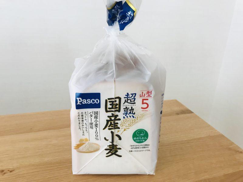 パスコ超熟 国産小麦