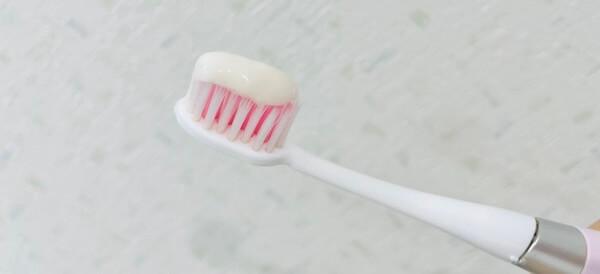 メイド・オブ・オーガニクスの歯磨き粉を出したところ