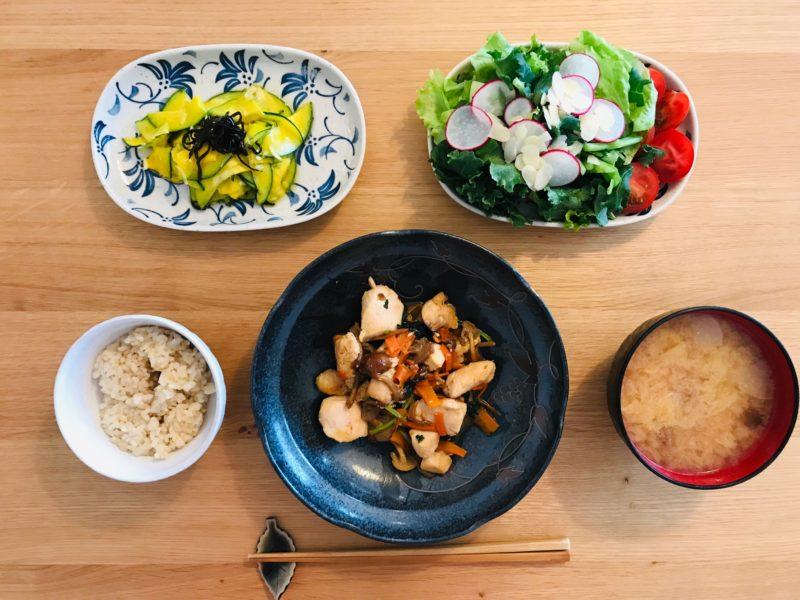 その他の野菜で調理