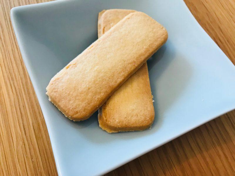 ノースカラーズの無添加バタークッキーの中身