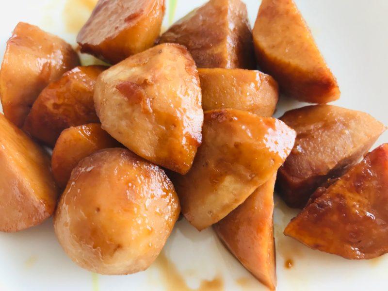 秋川牧園お試しセットの里芋で作った煮っころがし