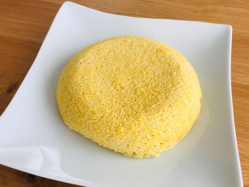 秋川牧園お試しセットの卵で作ったシフォンケーキ