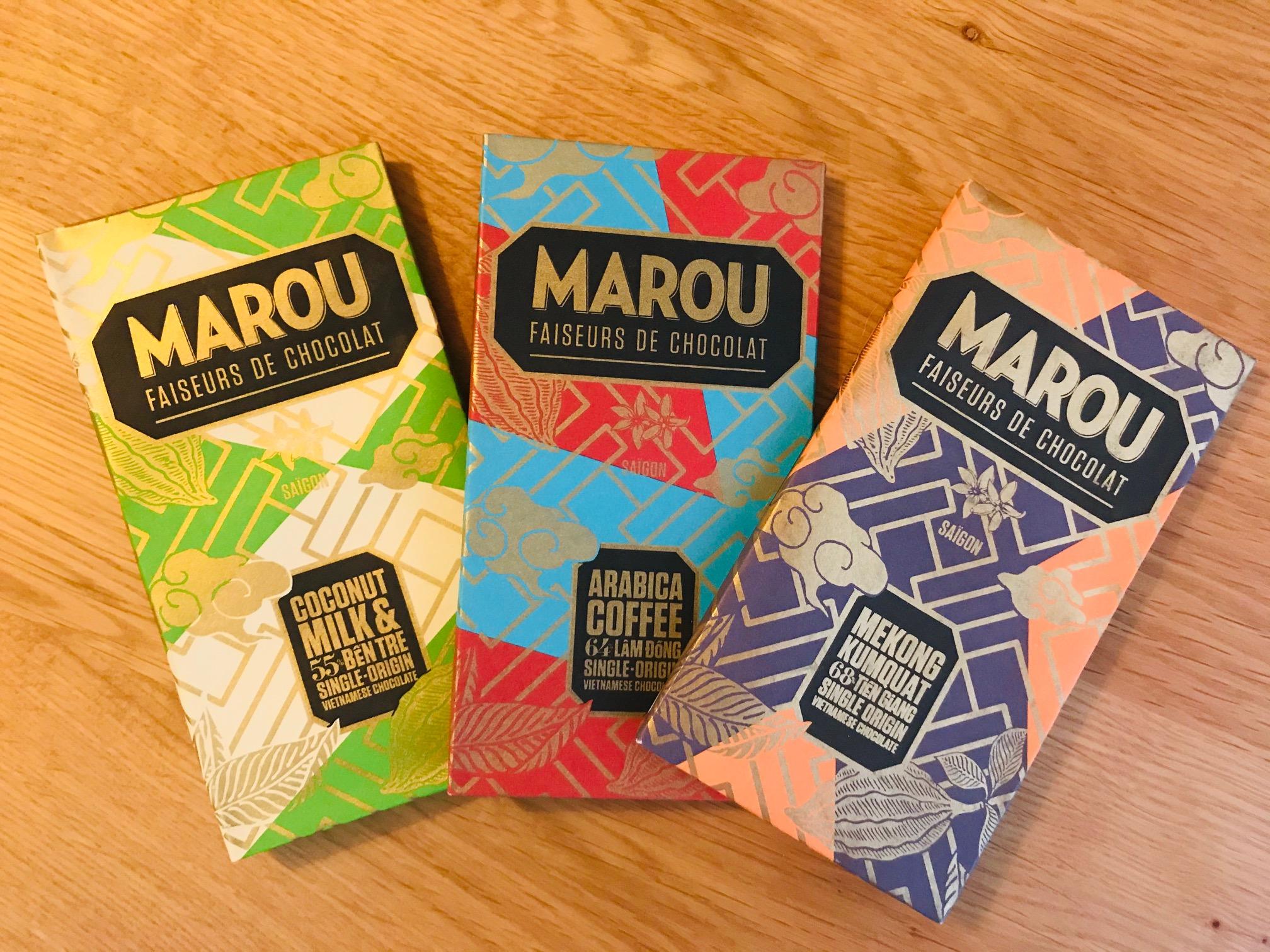 ベトナム無添加チョコレート MAROU