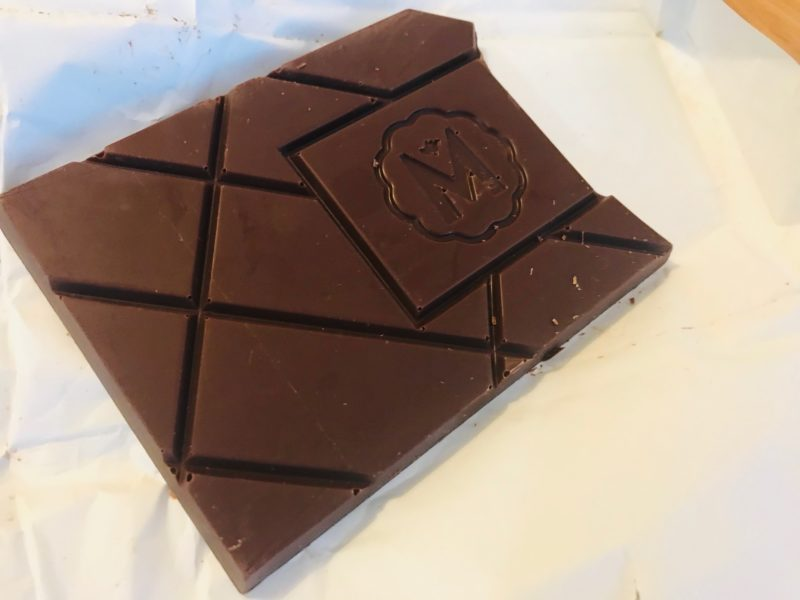 MAROUのチョコレートの中身
