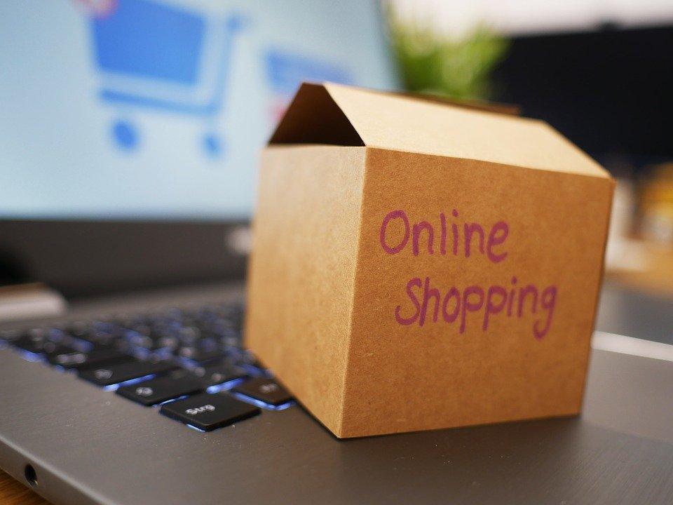 オンラインショッピングイメージ画像