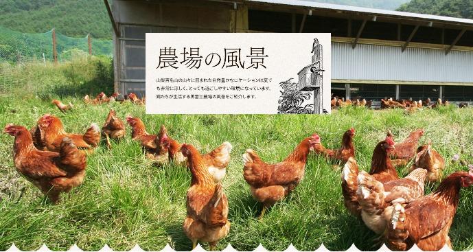 黒富士農場の風景