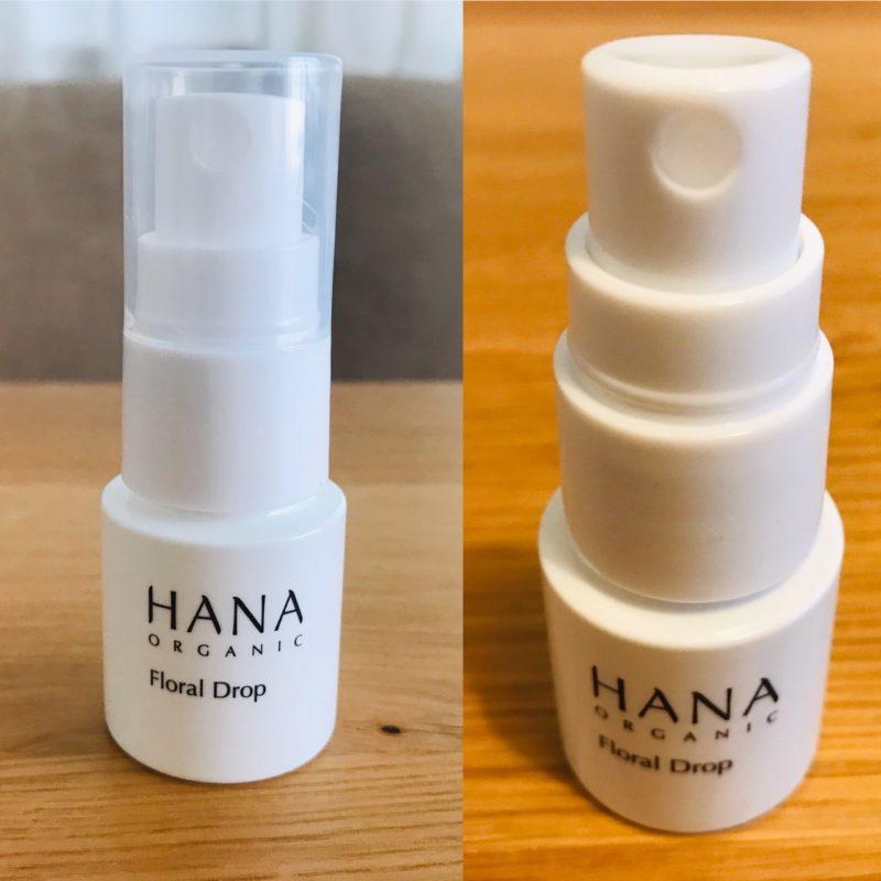 HANAオーガニックお試しセットの化粧水 フローラルドロップ
