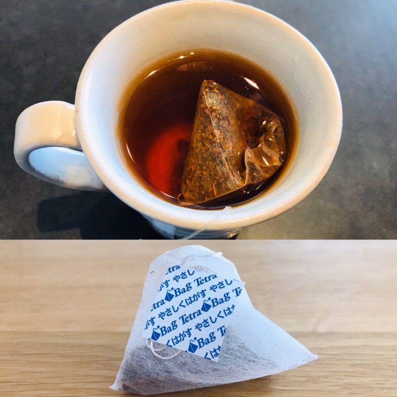 国太楼の有機ルイボスティーのお茶の色