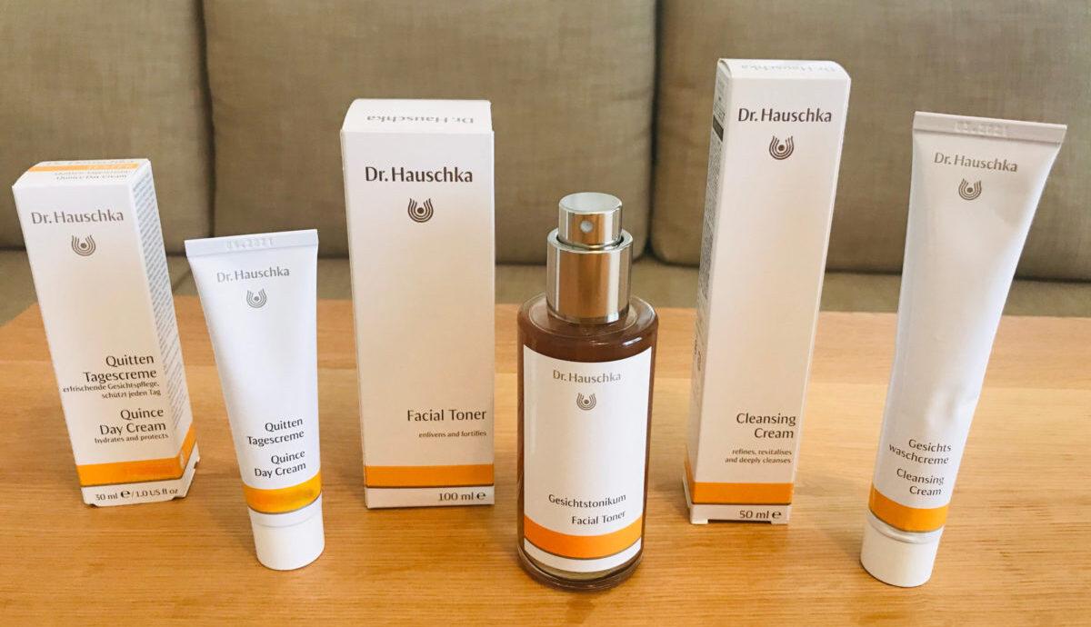 Dr.ハウシュカの洗顔、化粧水、クリーム