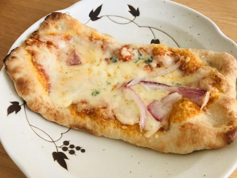 業務用スーパーで購入した無添加ピザ