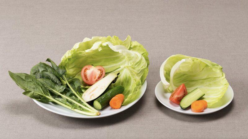 1日に必要な野菜の量350g