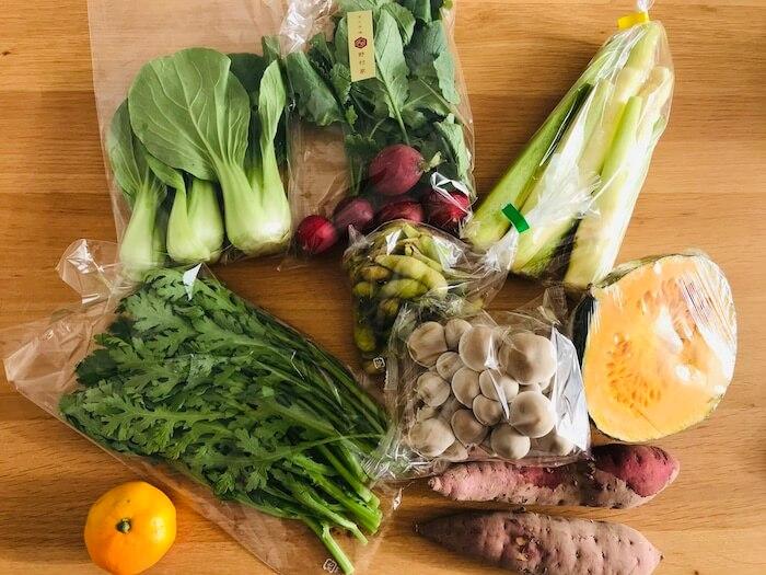坂ノ途中のお野菜