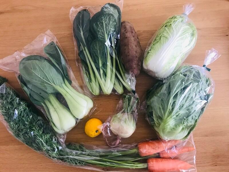 食べチョク 届いたお野菜