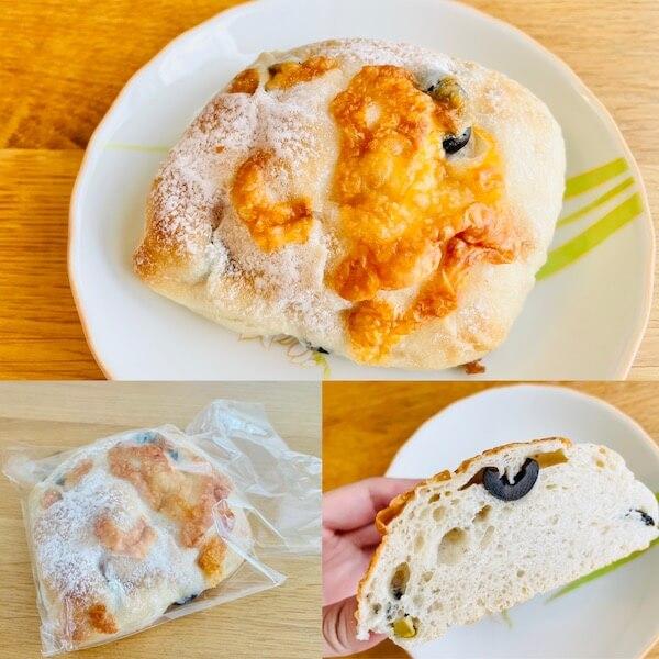 麦の穂 お試しセット 2種のオリーブとチーズのパン